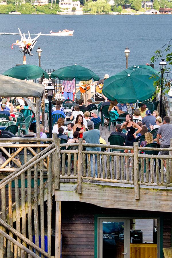 Lakeside Lake George Ny Restaurant Dining Entertainment At